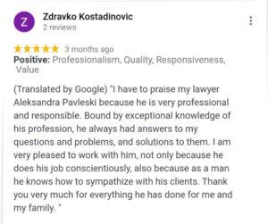 Advokat preporuka
